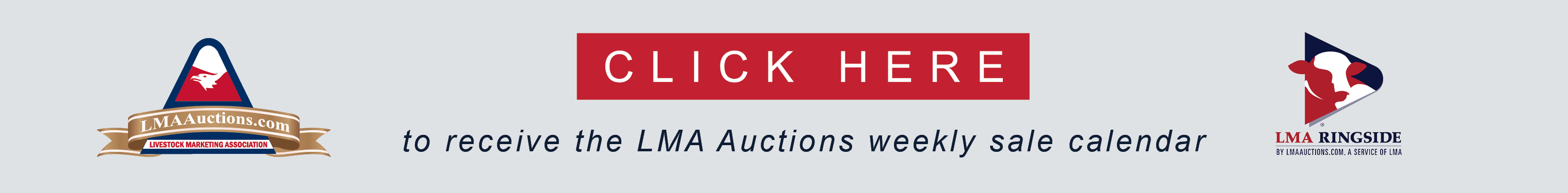 Join the LMAauctions Sale Calendar Email